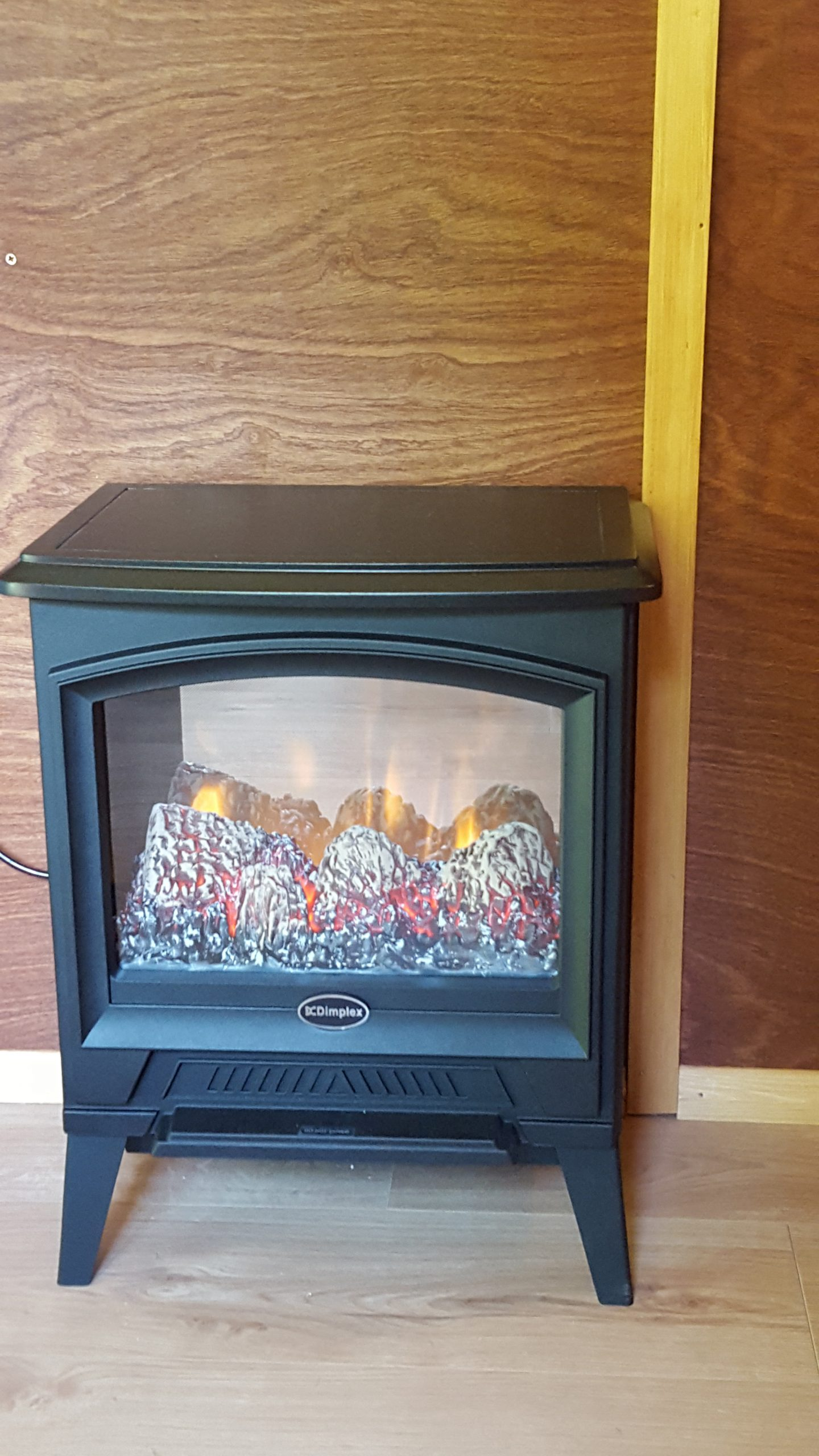 Kingfisher Hut Fireplace