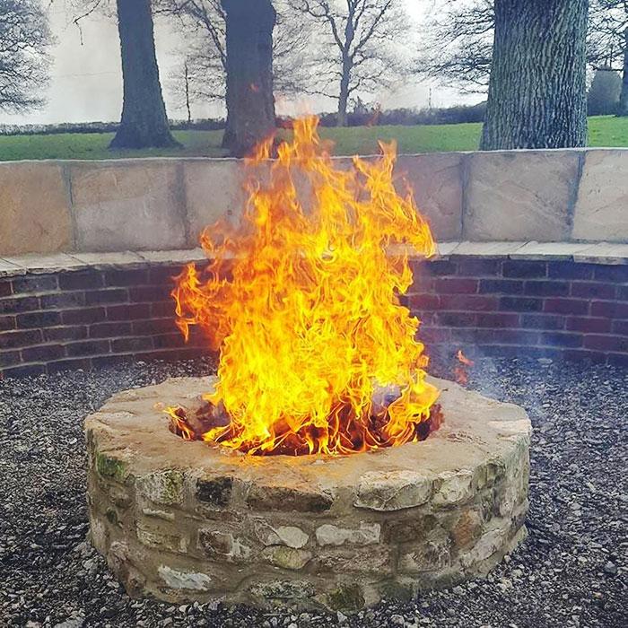 Fire Pit At Our Venue
