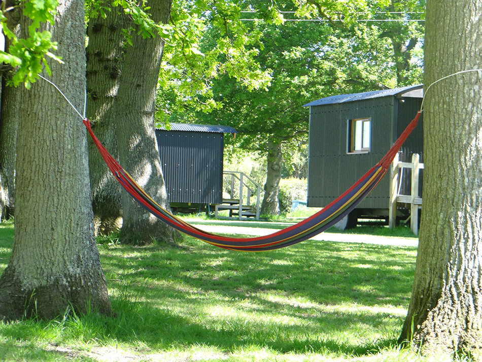 Relax In Our Shepherd's Huts