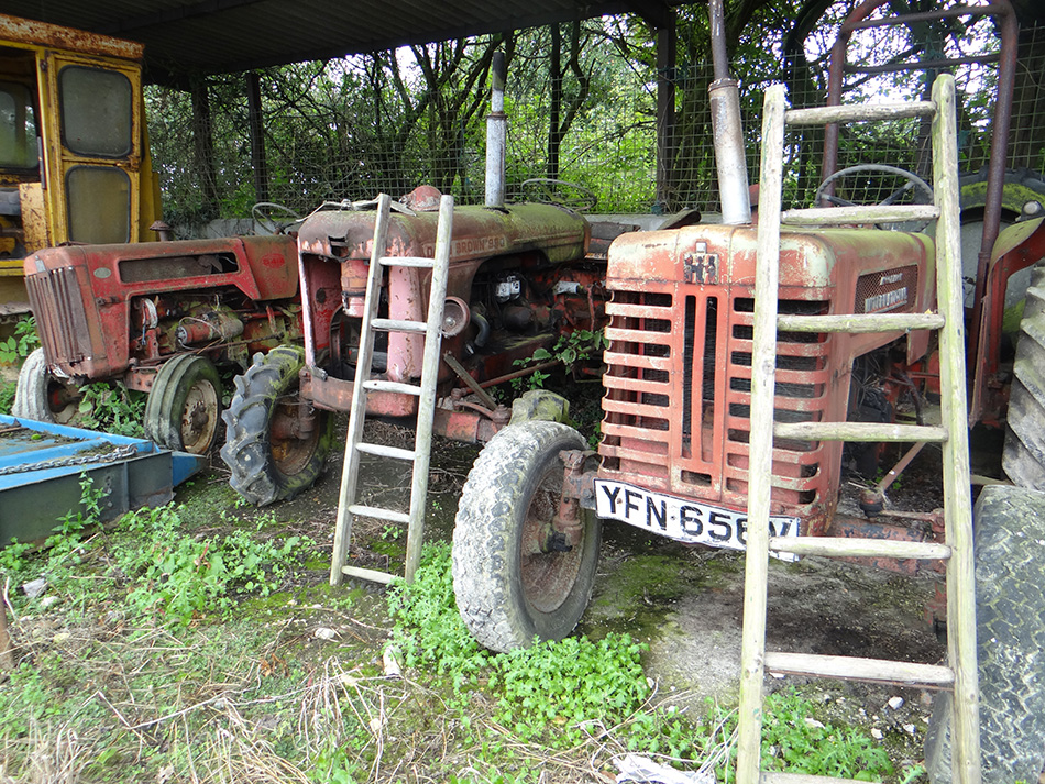 Vintage Tractors, Unrestored