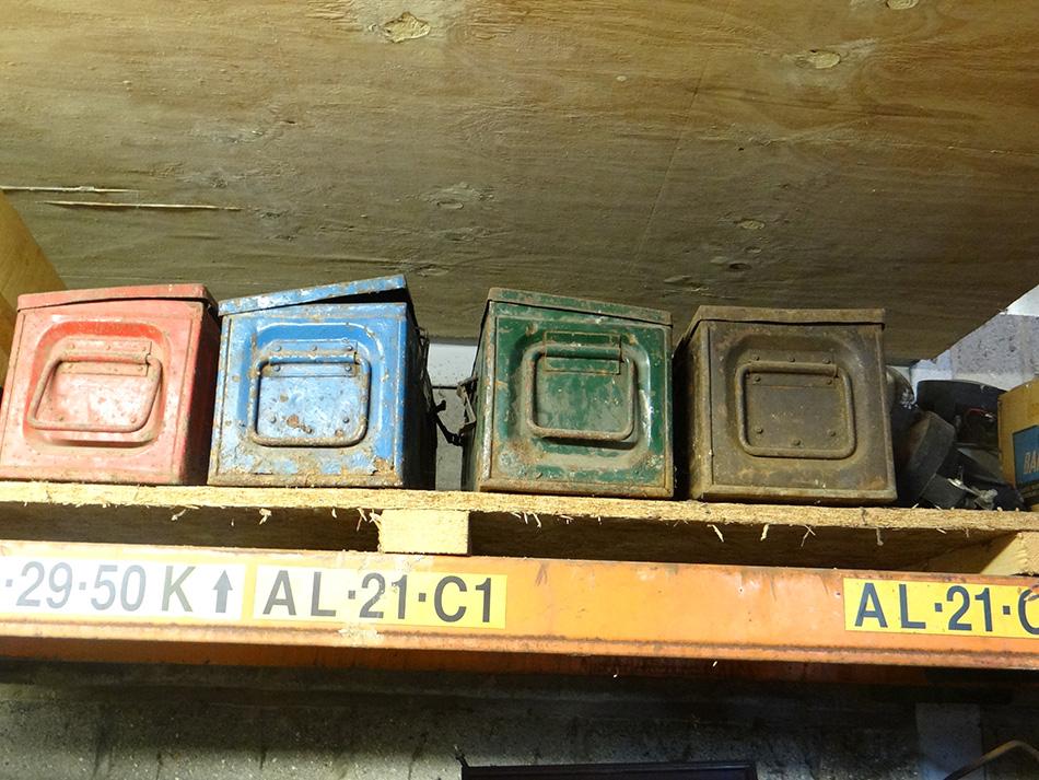 Old Tin Boxes