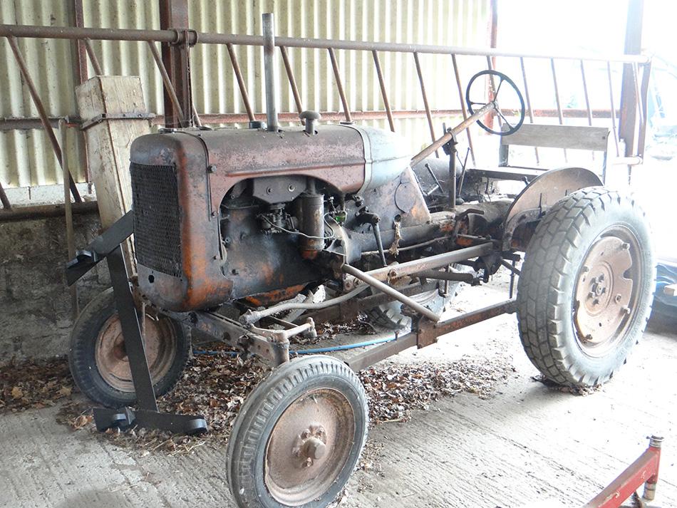 Vintage Unrestored Tractor