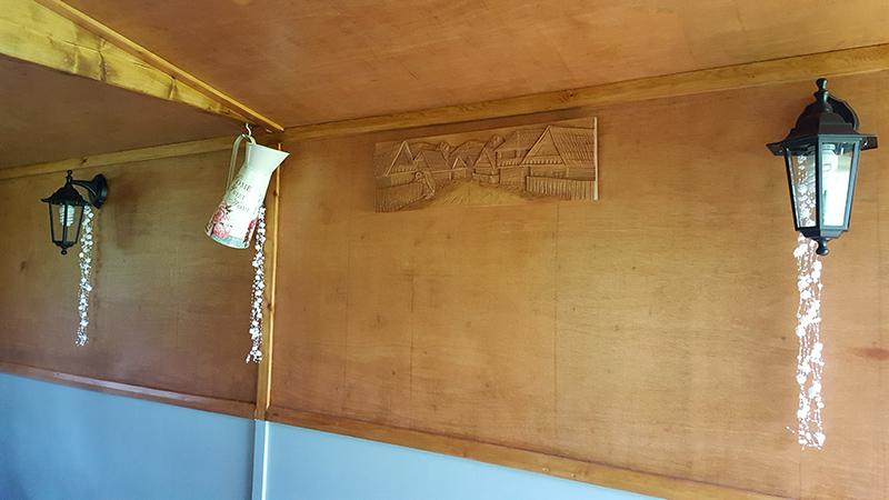 Inside The Owl Hut
